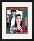 Vanity Fair Cover - March 1927 Framed Giclee Print by Eduardo Garcia Benito