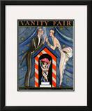 Vanity Fair Cover - October 1923 Framed Giclee Print by Joseph B. Platt