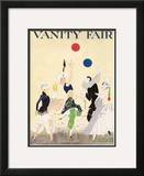 Vanity Fair Cover - January 1915 Framed Giclee Print by Ethel M. Plummer