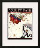 Vanity Fair Cover - October 1925 Framed Giclee Print by Stanley W. Reynolds