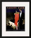 Vanity Fair Cover - July 1927 Framed Giclee Print by William Bolin