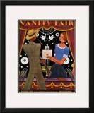 Vanity Fair Cover - October 1930 Framed Giclee Print by Georges Lepape
