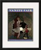 Vanity Fair Cover - February 1929 Framed Giclee Print by Georges Lepape