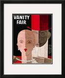 Vanity Fair Cover - December 1930 Framed Giclee Print by Eduardo Garcia Benito