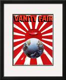 Vanity Fair Cover - February 1935 Framed Giclee Print by  Garretto