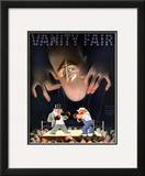 Vanity Fair Cover - March 1935 Framed Giclee Print by  Garretto