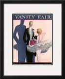 Vanity Fair Cover - August 1923 Framed Giclee Print by Eduardo Garcia Benito
