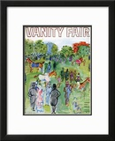 Vanity Fair Cover - August 1934 Framed Giclee Print by Raoul Dufy