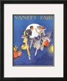 Vanity Fair Cover - June 1916 Framed Giclee Print by Everett Shinn