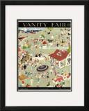 Vanity Fair Cover - July 1919 Framed Giclee Print by Jr., John Held