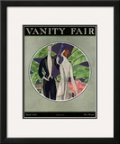 Vanity Fair Cover - March 1922 Framed Giclee Print by Eduardo Garcia Benito