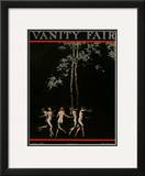 Vanity Fair Cover - August 1921 Framed Giclee Print by Warren Davis