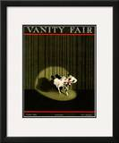 Vanity Fair Cover - October 1921 Framed Giclee Print by William Bolin