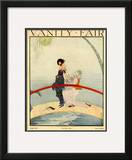 Vanity Fair Cover - August 1919 Framed Giclee Print by Rita Senger