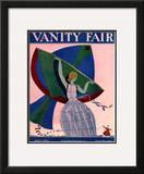 Vanity Fair Cover - April 1924 Framed Giclee Print by Eduardo Garcia Benito