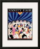 Vanity Fair Cover - March 1921 Framed Giclee Print by A. H. Fish