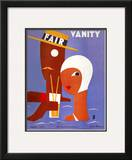 Vanity Fair Cover - August 1929 Framed Giclee Print by Eduardo Garcia Benito