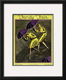 Vanity Fair Cover - April 1928 Framed Giclee Print by Marion Wildman