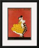 Vanity Fair Cover - December 1914 Framed Giclee Print by A. H. Fish