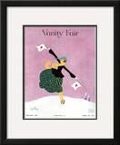 Vanity Fair Cover - January 1918 Framed Giclee Print by Gordon Conway