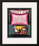 Vanity Fair Cover - December 1923 Framed Giclee Print by Joseph B. Platt