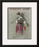 Vanity Fair Cover - October 1914 Framed Giclee Print by  Rabajoi