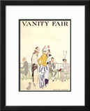 Vanity Fair Cover - August 1914 Framed Giclee Print by Ethel M. Plummer