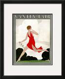 Vanity Fair Cover - May 1921 Framed Giclee Print by André E. Marty