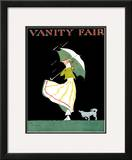 Vanity Fair Cover - April 1915 Framed Giclee Print by Ethel M. Plummer