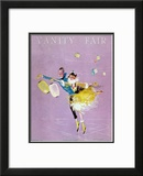 Vanity Fair Cover - February 1917 Framed Giclee Print by Dorothy Ferriss