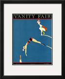 Vanity Fair Cover - July 1921 Framed Giclee Print by A. H. Fish
