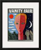 Vanity Fair Cover - August 1930 Framed Giclee Print by Miguel Covarrubias
