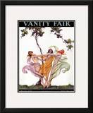 Vanity Fair Cover - May 1926 Framed Giclee Print by Warren Davis