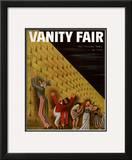 Vanity Fair Cover - June 1933 Framed Giclee Print by Miguel Covarrubias