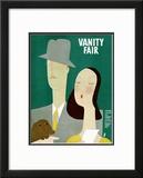 Vanity Fair Cover - June 1930 Framed Giclee Print by Eduardo Garcia Benito