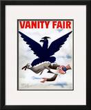 Vanity Fair Cover - September 1934 Framed Giclee Print by  Garretto