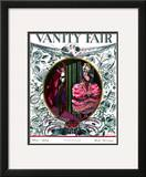 Vanity Fair Cover - May 1924 Framed Giclee Print by Joseph B. Platt