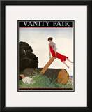 Vanity Fair Cover - March 1926 Framed Giclee Print by André E. Marty