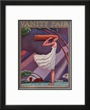 Vanity Fair Cover - April 1926 Framed Giclee Print by Pierre L. Rigal