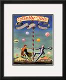 Vanity Fair Cover - May 1923 Framed Giclee Print by Kent Rockwell