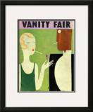 Vanity Fair Cover - January 1930 Framed Giclee Print by Eduardo Garcia Benito