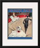 Vanity Fair Cover - September 1925 Framed Giclee Print by William Bolin