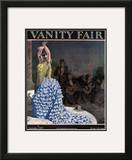 Vanity Fair Cover - September 1929 Framed Giclee Print by Pierre Brissaud