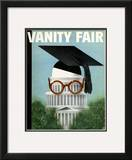 Vanity Fair Cover - June 1934 Framed Giclee Print by  Garretto