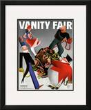 Vanity Fair Cover - December 1933 Framed Giclee Print by  Garretto