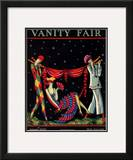 Vanity Fair Cover - January 1926 Framed Giclee Print by Stanley W. Reynolds