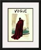 "Vogue Cover - September 1935 Framed Giclee Print by Carl ""Eric"" Erickson"