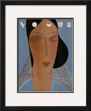 Vogue Cover - September 1929 Framed Giclee Print by Eduardo Garcia Benito