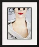 Vogue Cover - October 1952 Framed Giclee Print by Erwin Blumenfeld