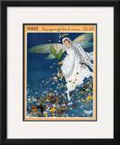 Vogue Cover - May 1913 Framed Giclee Print by George Wolfe Plank